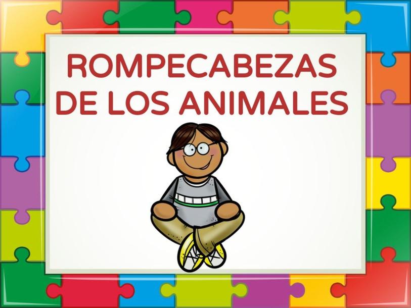 ROMPECABEZAS DE ANIMALES  by Pedagogo Innova