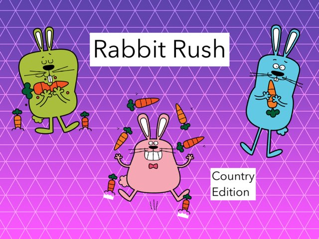 Rabbit Rush- Country Edition by Emily Hyde