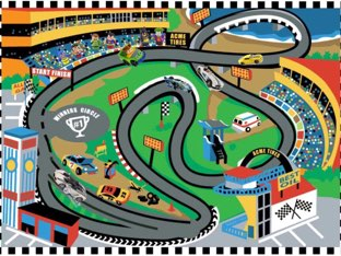Racing Puzzle by Emily McCutcheon