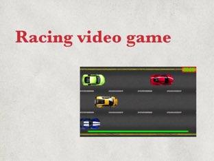 Racing Video Game    by Bushra DF3