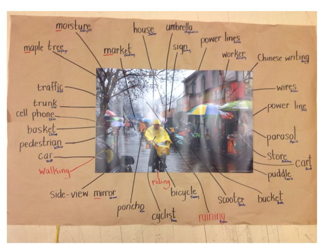 Rain Vocab Assessment by Russell Munkler
