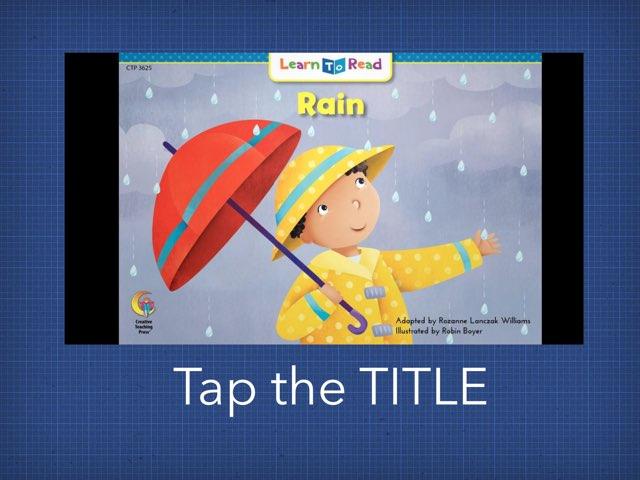 Rain! by TSD Library
