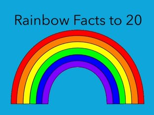 Rainbow Facts to 20 by Chelsea James