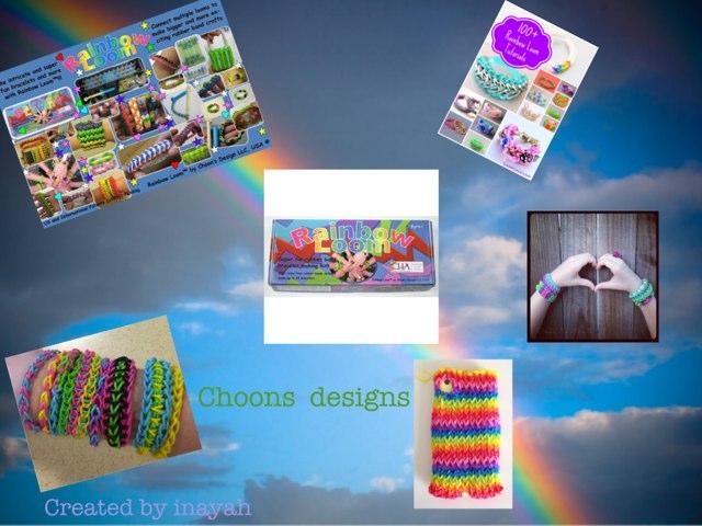 Rainbow Loom 2 by Inayah Amir
