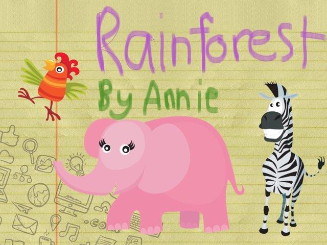 Rainforest By Annie by Jane Miller _ Staff - FuquayVarinaE