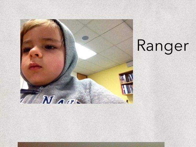 Rangers Game by Edventure More -  Conrad Guevara