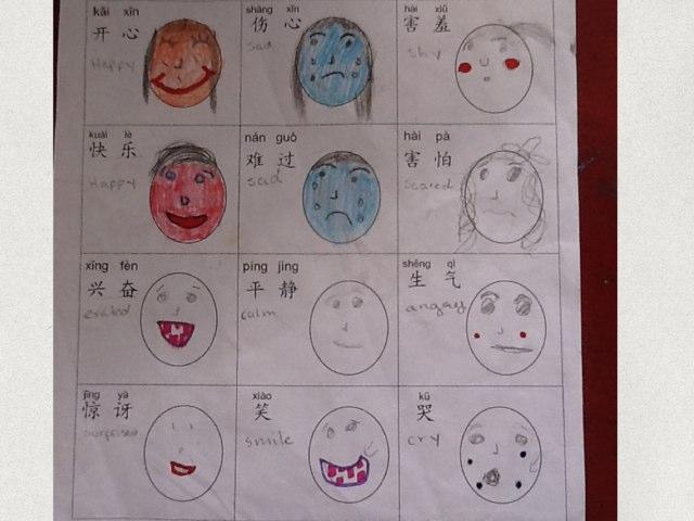 Rania Chinese 5A Emotions by Bradbury Pu