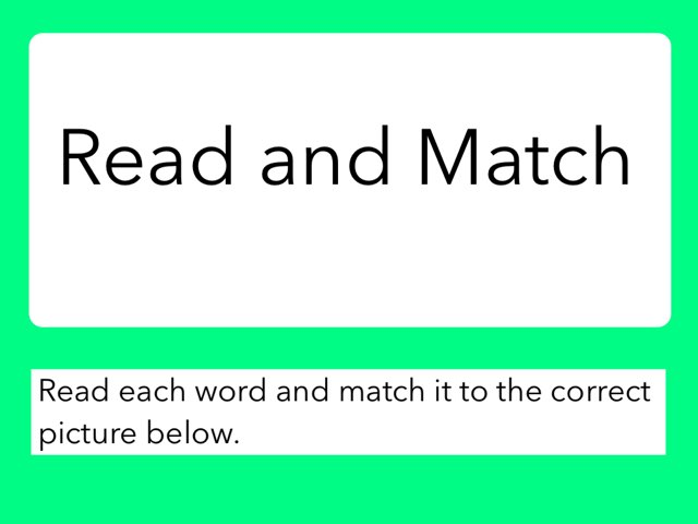 Read And Match 2 by Julie Gittoes-Henry
