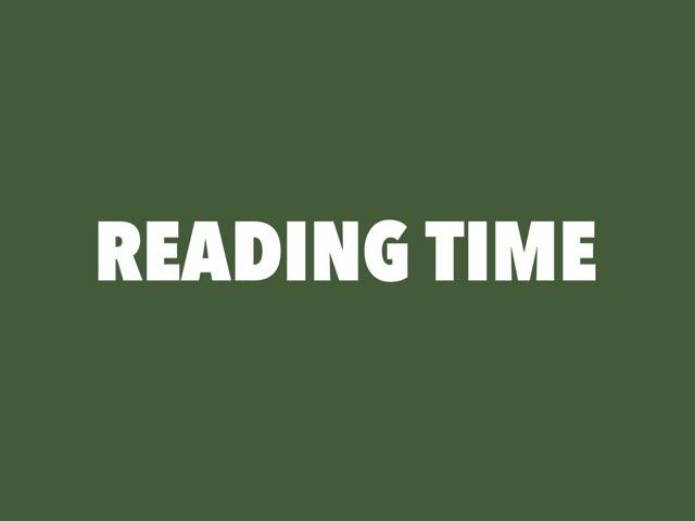Reading Time I by Shilpashree Rangaswamy