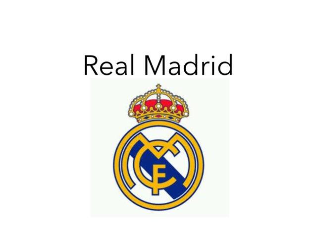 Real Madrid by Ibon Rebelo