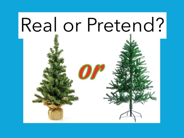 Real Or Pretend? by Scott Fontaine