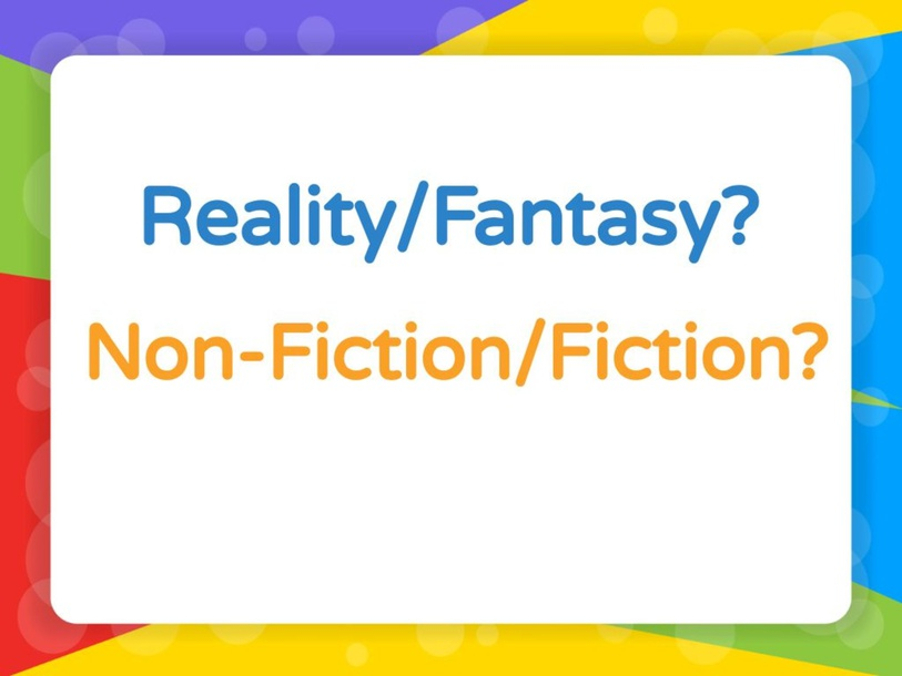 Reality/Fantasy &Fiction/Non Fiction by Nye Mohamed