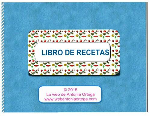 Recetas by Antonia Ortega López