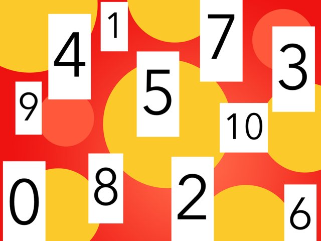 Recognizing Numbers by Mindy Eschenburg