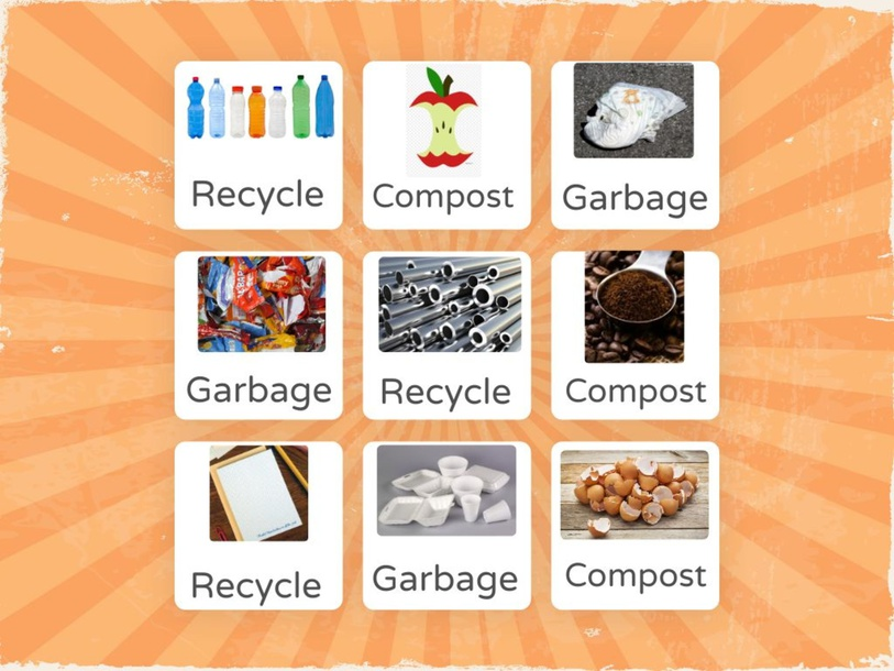 Recycle, Garbage, Compost and Pollution by Esmeralda Reyes