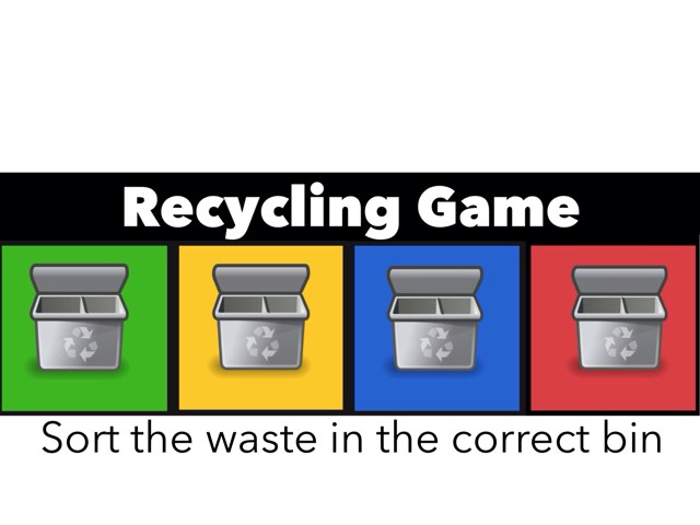 Recycling Game by Leslie Burke