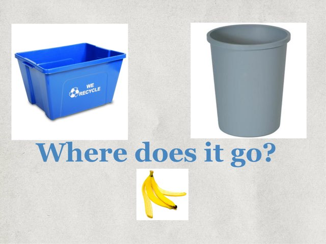 Recycling Game - Where Does It Go  by Bev Kyro