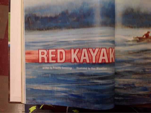 Red Kayak  by Coach Nikic