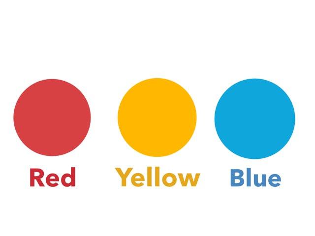 Red Yellow Blue by Jen Biener