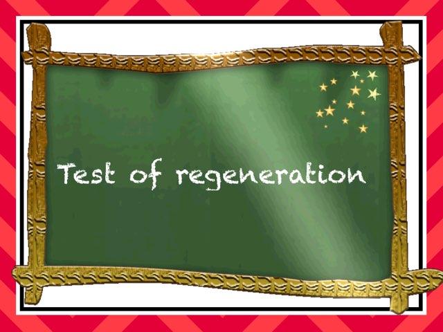 Regeneration by Diego Campos