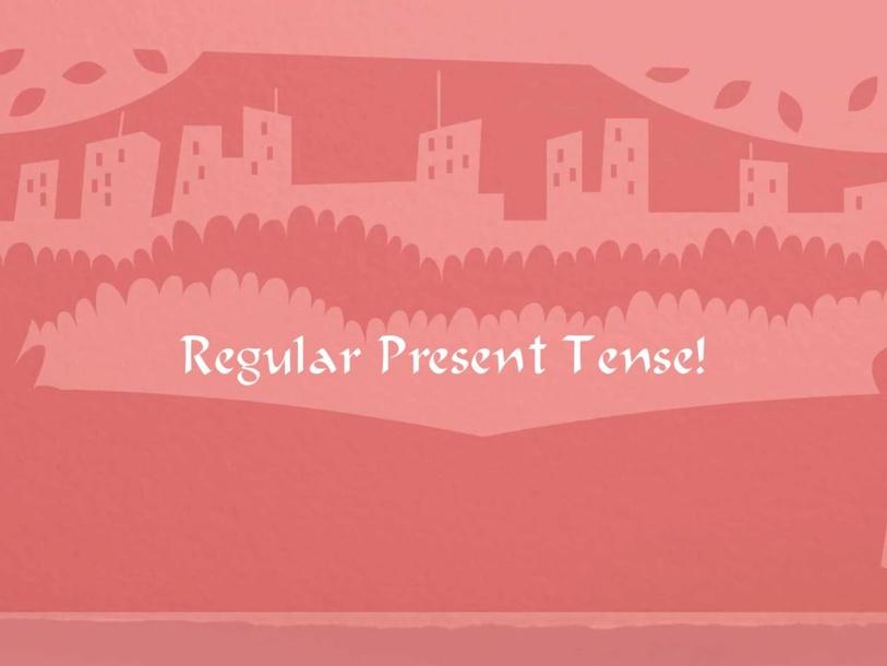 Regular Spanish Present Tense verbs by Chelsea Eastep