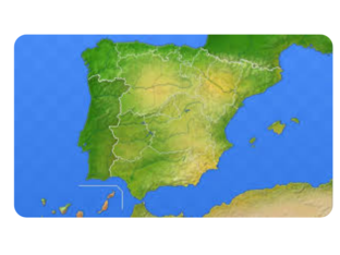 Relieve de España by Ángela Jiménez Úbeda