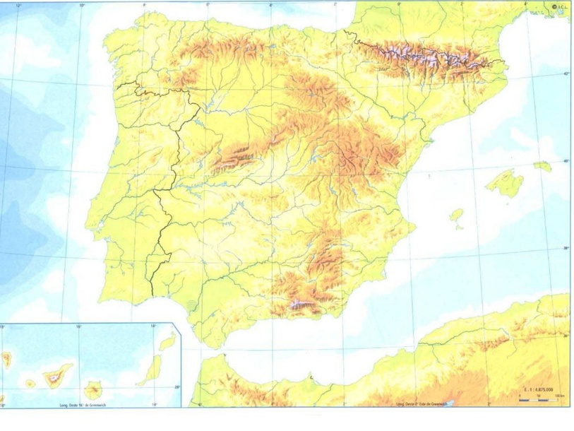 Relieve de España by Inés Alonso Muñoz