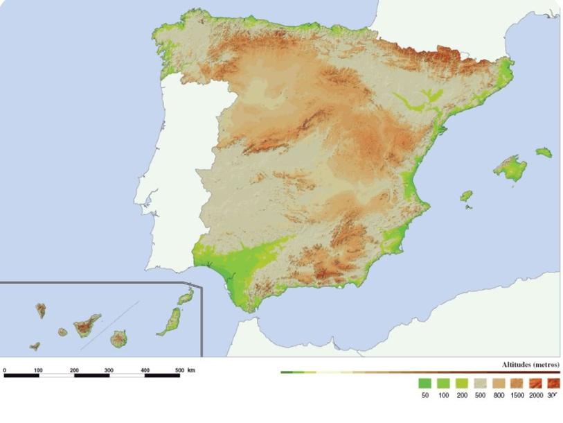 Relieve de España by Daniel Fernández Del Peso
