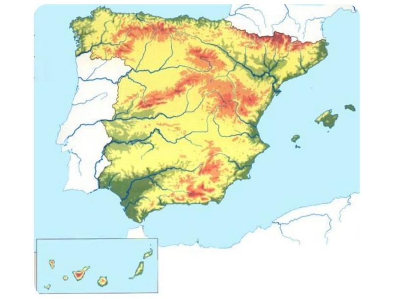 Relieve de España by María Coutiño Razina