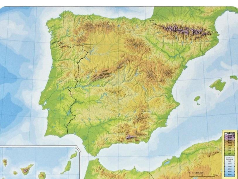 Relieve de España by Alejandro Muñoz Serrano