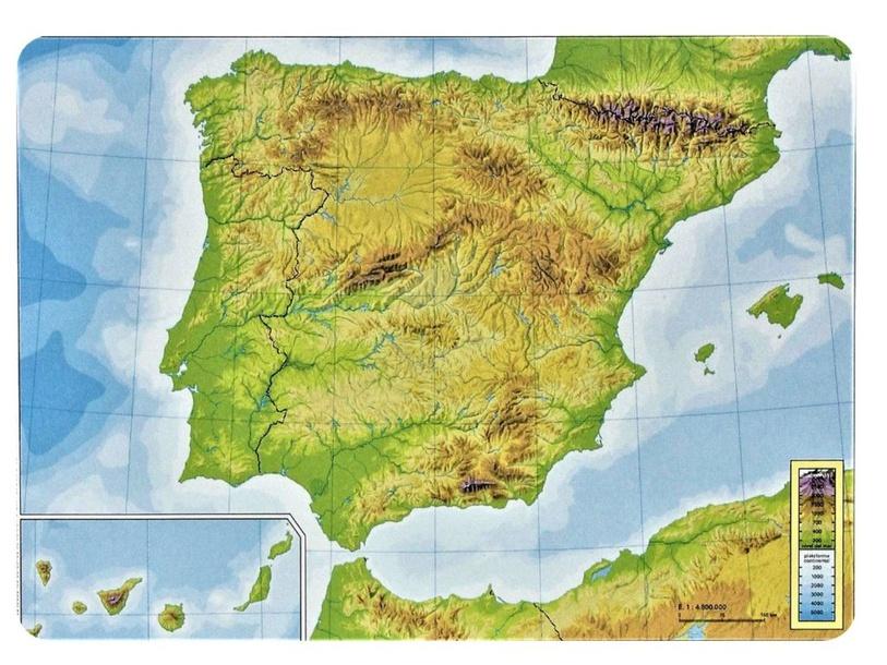 Relieve de España by Blanca Ferrero Fraile