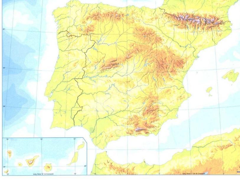 Relieve de España by Andrea Parra Ajates