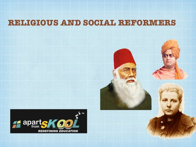 Religious And Social Reformer by TinyTap creator