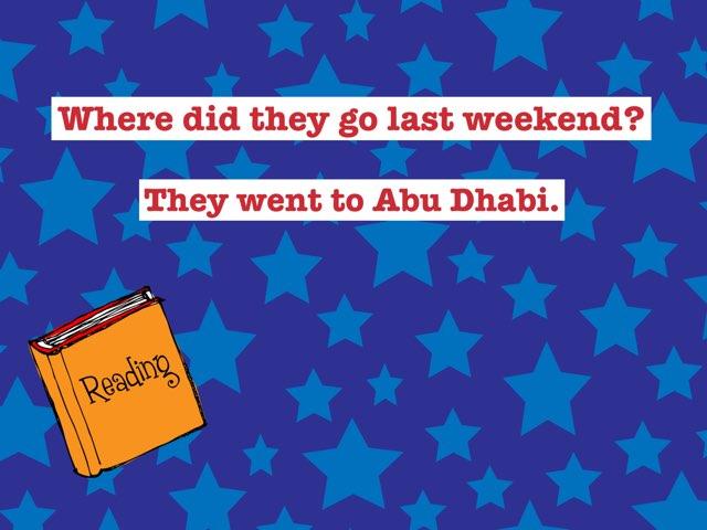 Reorder The Sentences  by Arua Al Adl