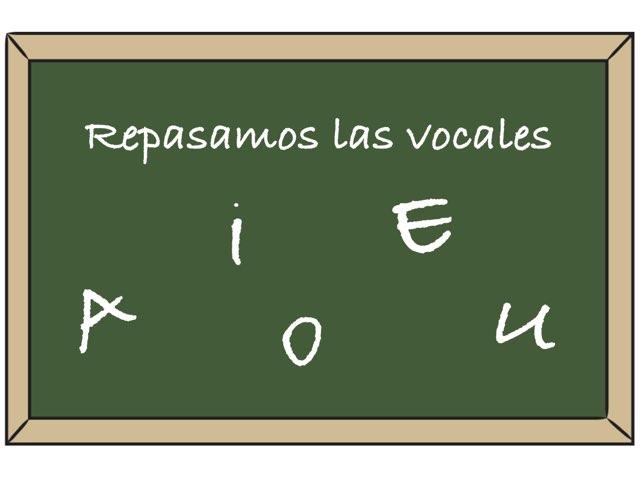Repasamos Las Vocales by Zoila Masaveu