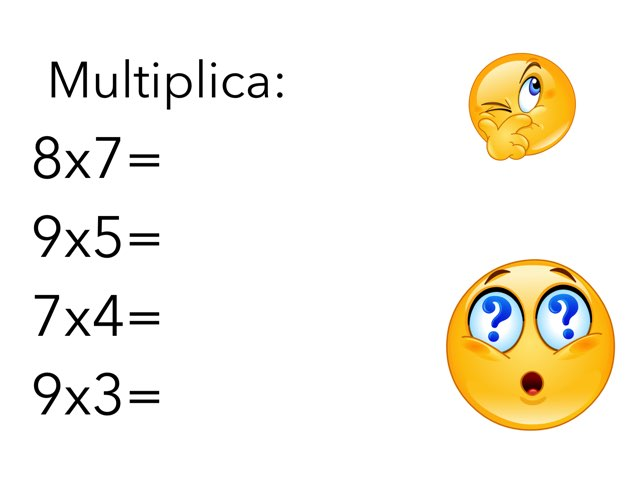 Repassar Taules Multiplicar by Curso CFTIC