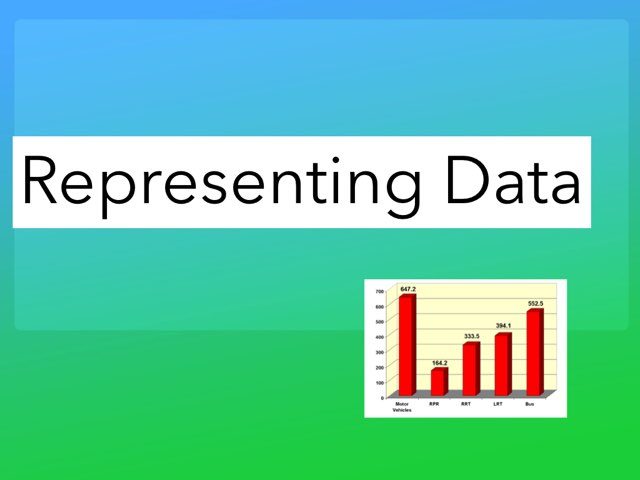 Representing Data by TRacy snyder