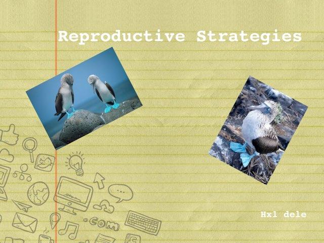 Reproductive Strategies by hx1 dele