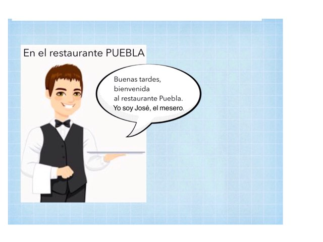 Restaurante Vocabulario by Rodica Harvey