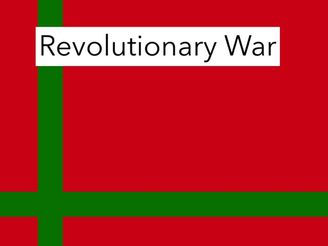 Revolutionary War Emory by Jane Miller _ Staff - FuquayVarinaE