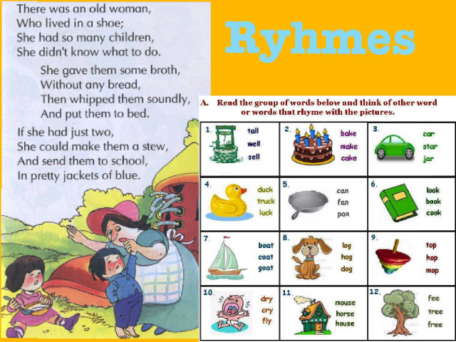 Rhymes by juliana chavez