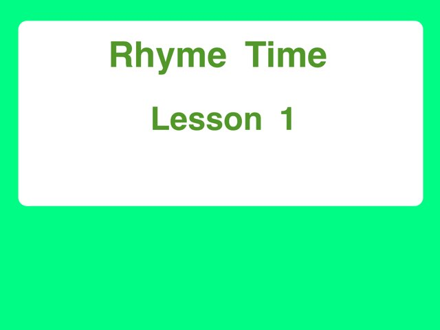 Rhyming At by Michael Travers