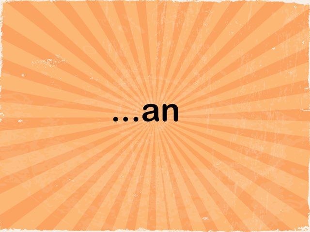 Rhyming Words an, ap, at, am, all by Resource Room