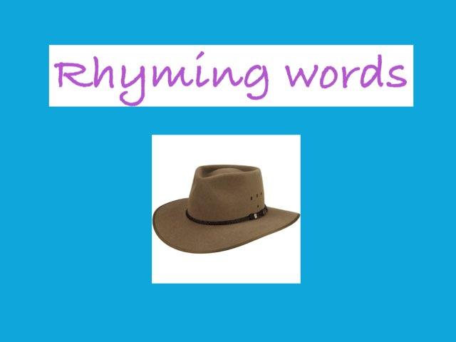Rhyming Words by Jen Siddons