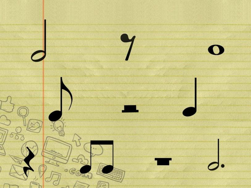 Rhythm symbol identification by Brandon Malowski