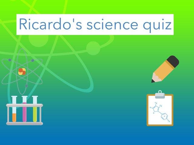 Ricardo's Quiz by Daragh Mcmunn