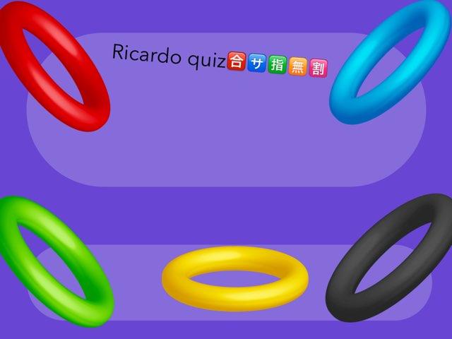 Richy's Quiz by Daragh Mcmunn