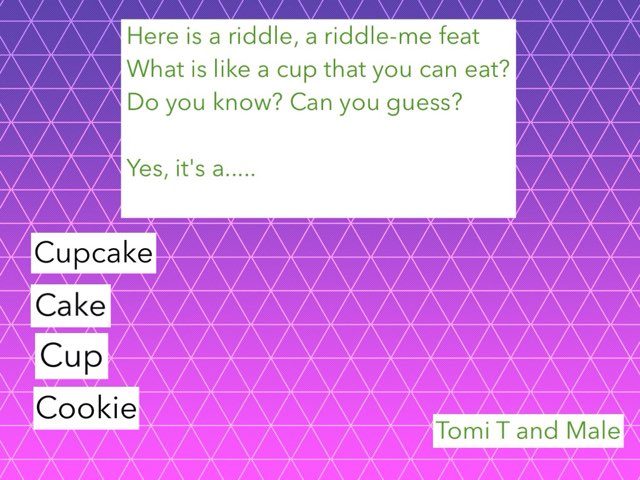 Riddle by op1a ipad