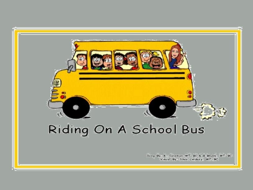 Riding on a School Bus by rhonda.lilly.wylieisd.net