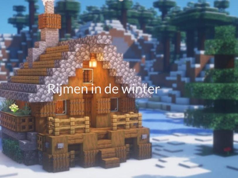 Rijmen in de winter by marloes glorie